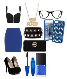Blue Ivy by nikkiosopretty on Polyvore featuring polyvore, fashion, style, sass & bide, T By Alexander Wang, MICHAEL Michael Kors, Valentino, Marc by Marc Jacobs, Vera Bradley, Muse, NARS Cosmetics and clothing