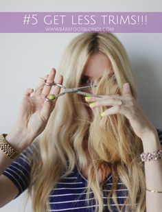 Barefoot Blonde 13 Ways To Grow Out Your Hair