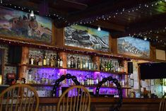 This unique place dates to the 1940s and served as a replacement for the original tavern that was built in the late 1890s. Here, you'll find plenty of drinks that will quench your thirst as well as live entertainment.