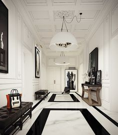 Interiors | St Germain Apartment                                             Bloglovin on Oct. 16, 2014...3D gorgeous bathroom