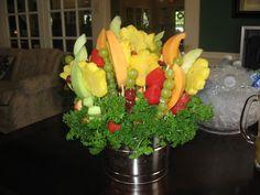 edible fruit bouqet
