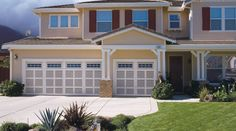 Enhance the value and curb appeal of your home with Timber wood garage doors by Safe-Way Door.