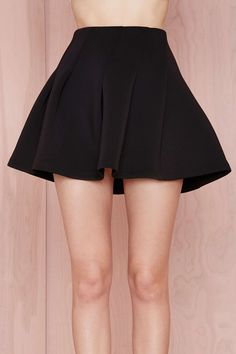 Nasty Gal Side Piece Scuba Skirt | Shop Clothes at Nasty Gal!