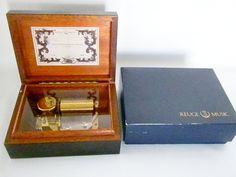 Vintage Reuge Music Box 1985 Perfect condition Made by oldandnew8