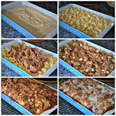 The Domestic Doozie: Apple Fritter Cake, this is going to be my next dessert to share at church!