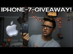 IPHONE 7 GIVEAWAY!! - YouTube