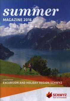 https://flic.kr/p/N46N9u | summer magazine 2016, Excursion and Holiday Region Schwyz; Switzerland