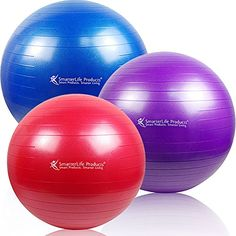 SmarterLife Products Premium Exercise and Stability Ball - #1 for Fitness, Weight Loss, Core Strength, CrossFit, Yoga & Pilates (Blue, 75 cm) SmarterLife Products http://www.amazon.com/dp/B00QU84KHU/ref=cm_sw_r_pi_dp_H4Evwb07PV9CJ
