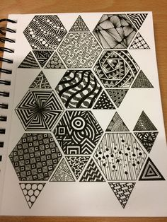 Doodle Patterns 318277898669314780 - 31 Ideas for doodle art ideas draw zentangle patterns Source by nachry Doodle Art Drawing, Zentangle Drawings, Art Drawings Sketches, Easy Drawings, Drawing Ideas, Zentangle Art Ideas, Doodles Zentangles, Easy Zentangle Patterns, Easy Patterns To Draw