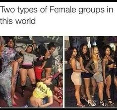 Llf my group on the right but it jst three of us ...lol i know alot of them group on the left but imma keep to myself on that lol