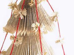 strung paper tassels