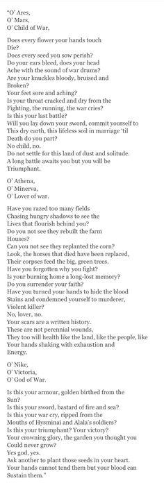 O' Otrera, her story will never end like yours. She eats Bellerophon for breakfast. (via voidkraken)