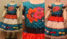 vestido junino Summer Dresses, Fashion, Little Girl Clothing, Summer Sundresses, Clothes, Cut Outs, Moda, Sundresses, Fasion