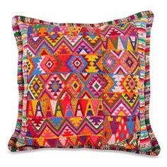 guatemalan pillow huipil