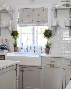 Luxury Window Over Kitchen Sink