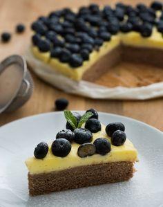 Borůvkový koláč s vanilkovým pudinkem , Foto: FTV Prima / Tomáš Svoboda Svoboda, Waffles, Treats, Breakfast, Sweet, Food, Sweet Like Candy, Morning Coffee, Candy