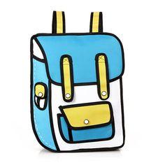 backpack,comic bag, school bags,Fashion bag,nylon bag