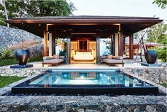 This villa is part of the Ani Villas fully staffed beachfront resort in the south of Sri Lanka and sleeps up to 16 Sri Lanka, Tiny House, Hotel Ads, Villas, Chill, Resort Villa, Beach Villa, Family Vacation Destinations, Le Havre