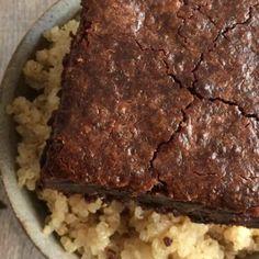Double Chocolate Quinoa Brownies {Vegan, GF} - Skinny Fitalicious®