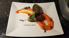 la cuisine j adore : KEFTA DE POISSON MENTHE - CORIANDRE ET PUREE FINE ...