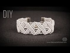 Eternal Zig Zag Lines X pattern Bracelet in Vintage Style, DIY. DIY Eternal Zig Zag Lines - X pattern Bracelet in Vintage Style - Tutorial by Macrame School. Please watch more macramé bracelets and free jewelry tutorials in playlist: .