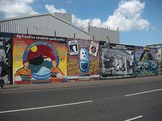 Belfast murals,Ireland