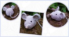 Crochet pattern Mouse : A free Dutch written crochet pattern of a mouse. Come quickly to crochet information for the crochet pattern of this sweet little mouse! Learn To Crochet, Diy Crochet, Crochet Mouse, Knitted Animals, Cat Toys, Diy For Kids, Needle Felting, Free Pattern, Diy And Crafts