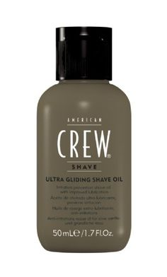 American Crew Ultra Gliding Shave Oil Great Product. Great for sensitive skin