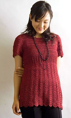 silk Short-sleeve Sweater