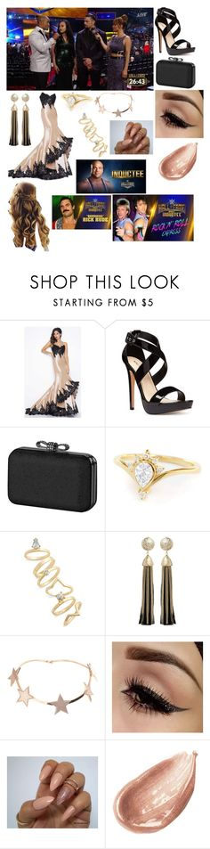 """Syrina and Roman at #WWEHOF2017"" by annapairah ❤ liked on Polyvore featuring WWE, Mac Duggal, Nine West, La Regale, Topshop, Rosantica, Givenchy and Jouer"