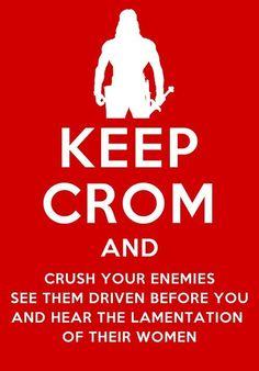 By Crom! #Conan  #ConanTheBarbarian