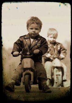 Life long rider...brothers