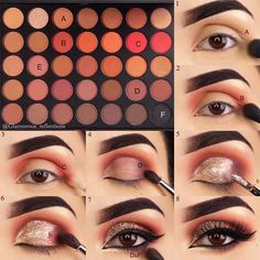 Makeup for Brown Eyes Step by Step picture 6