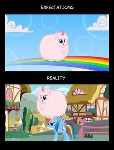 Pink Fluffy Unicorns Dancing on RAINBOW omg i was laughing so hard at this