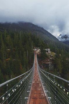 Sea To Sky Suspension Bridge, British Columbia, Canada