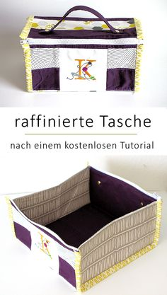 -- genäht nach einem kostenlosen Tutorial You are in the right place about diy purse fringe Here we offer you the most beautiful pictures about the diy purse fringe you are looking for. Diy Bag Organiser, Bag Organization, Sewing Tutorials, Sewing Crafts, Sewing Patterns, Sewing Kits, Diy Home Accessories, Sewing Accessories, Diy Purse Hanger