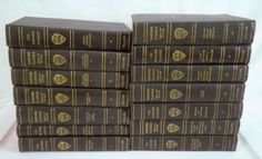 Harvard Classics - - complete 50 volume set - the Five foot bookcase! Virginia History, Capitol Building, Founding Fathers, Harvard, Bobble Head, Periodic Table, 50th, Bookcase, Classic