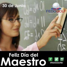 Feliz  día  del  maestro.  #maestro  #profesores  #docentes  #padres  #educacion  #profesionales  #fedogolfRD