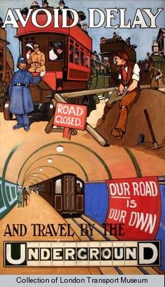 London Underground poster   http://www.london4vacations.com/