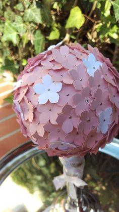 Hochzeitsdeko Blumen Kugel Stampin' Up