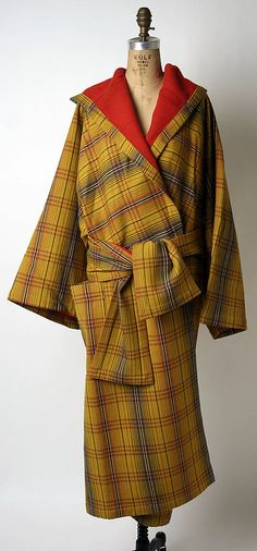 Coat by Issey Miyake, fall/winter 1976-77 (love the kimono elements!)