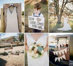 Budget Rustic Wedding - Rustic Wedding Chic