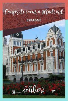 5 coups de coeur dans la ville de Madrid. Bien différente de Barcelone, elle saura malgré tout plaire au gourmand.   Voyage en Espagne.