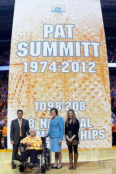 Pat Summitt -- you are amazing.