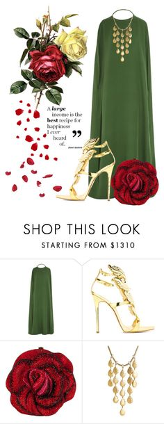 """Funny money"" by justange ❤ liked on Polyvore featuring Valentino, Giuseppe Zanotti, Judith Leiber, John Hardy, women's clothing, women, female, woman, misses and juniors"