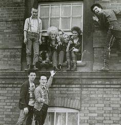 """""""punkpistol-seditionaries:  . YOUNG PUNKS  SKINS circa 1979 wearing a mixture of SEDITIONARIES and BOY clothing PunkPistol @ www.SEDITIONARIES.com .  """""""