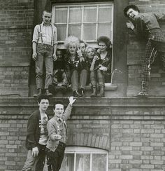 """punkpistol-seditionaries:  . YOUNG PUNKS  SKINS circa 1979 wearing a mixture of SEDITIONARIES and BOY clothing PunkPistol @ www.SEDITIONARIES.com .  """