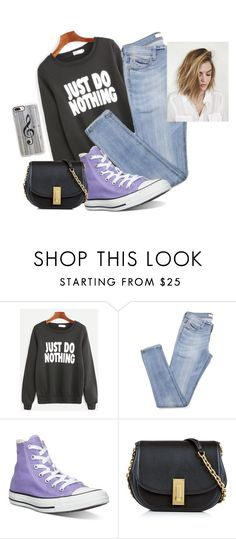 """Untitled #1314"" by rocknrollpartyqueen ❤ liked on Polyvore featuring Converse, Marc Jacobs and Casetify"