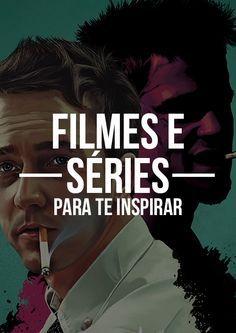 Lista com diversos filmes e séries que você tem que ver.