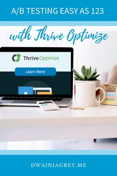 How can you ensure you are creating the best pages for conversion? Easily conduct A/B testing with the Thrive Optimize WordPress plugin. #thrivethemes #thrivesuite #thriveoptimize Business Website, Online Business, Affiliate Marketing, Online Marketing, Money Making Websites, Online Web Design, Help Teaching, Blogger Tips, Wordpress Plugins